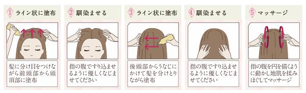 ベルタ育毛剤 使い方
