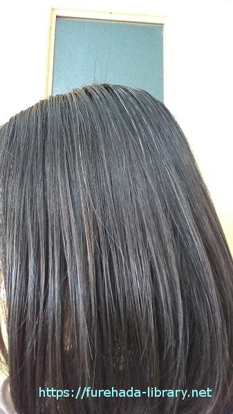 ゴクビプロ ドライオイル使用後の髪