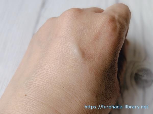 ネオテクト 使用後の肌