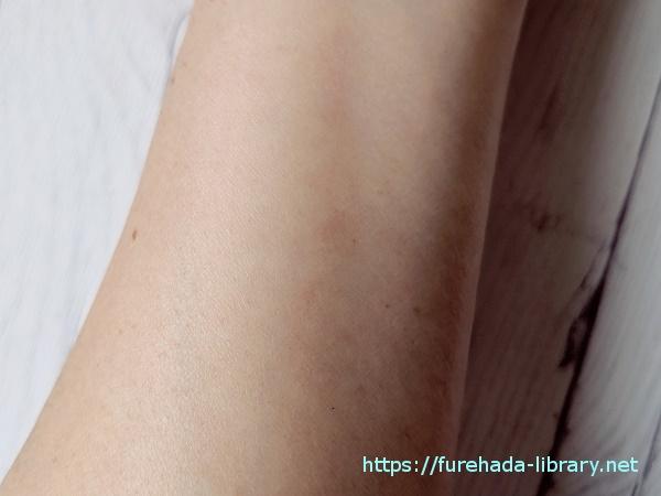 LLモイストエンリッチローション 使用後の肌