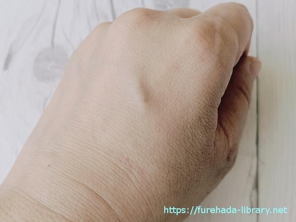クレイウォッシュ 使用後の肌