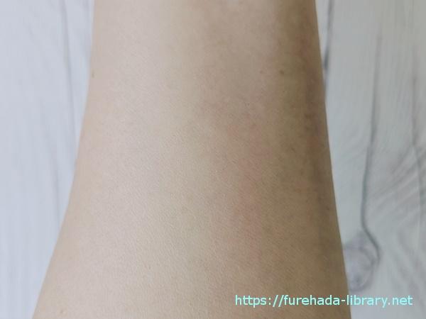 マナラホットクレンジングゲル・アルファピニ28コーラルクリアパウダーウォッシュ使用後の肌