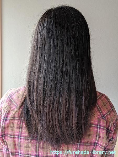ニネイク使用前の髪