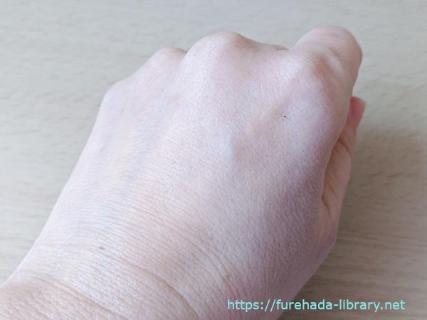 Ti-ina(ティーナ)フェイシャルフォーム使用後のお肌