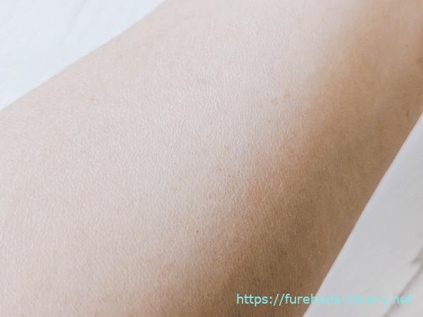 リプロスキン使用後の肌