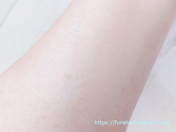 薬用VCエッセンス使用後の肌